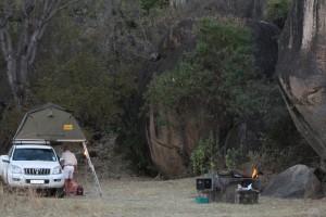 Camping at Maleme Dam