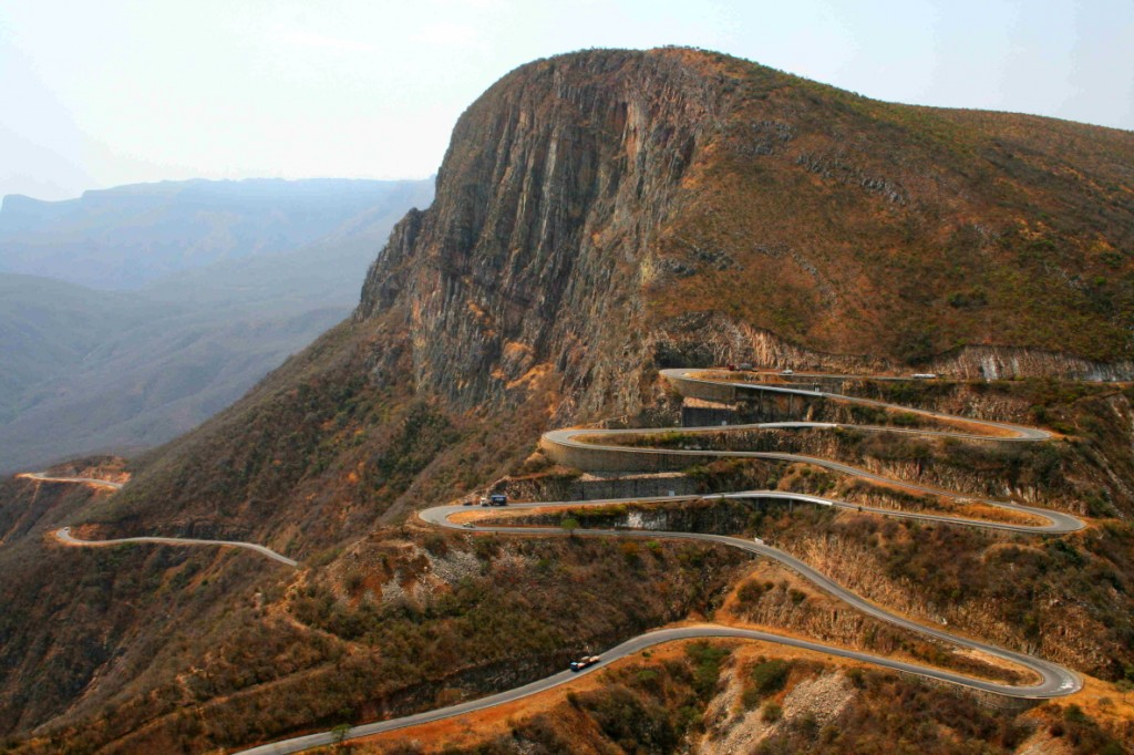 The hairpin bends of Serra da Leba
