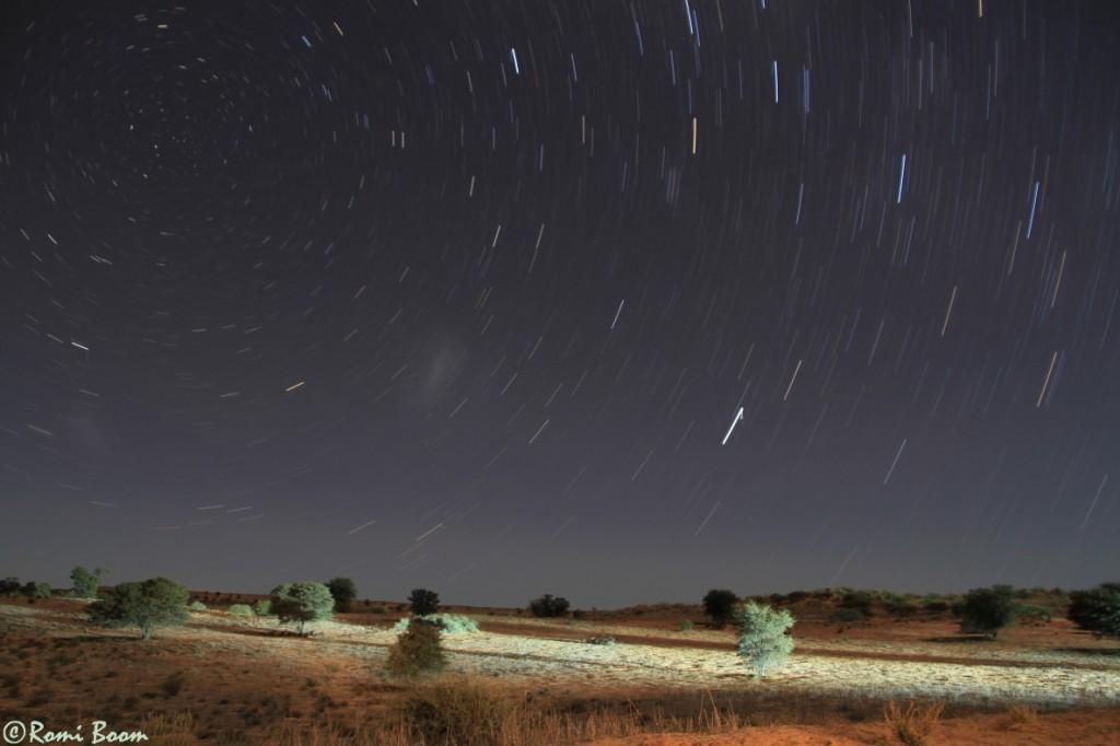 Rooiputs unfenced camp, Botswana