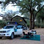 Camping at Samburu