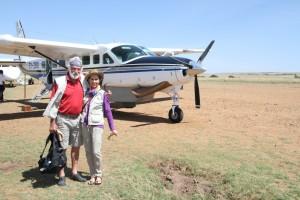 Intrepids airstrip, Masai Mara