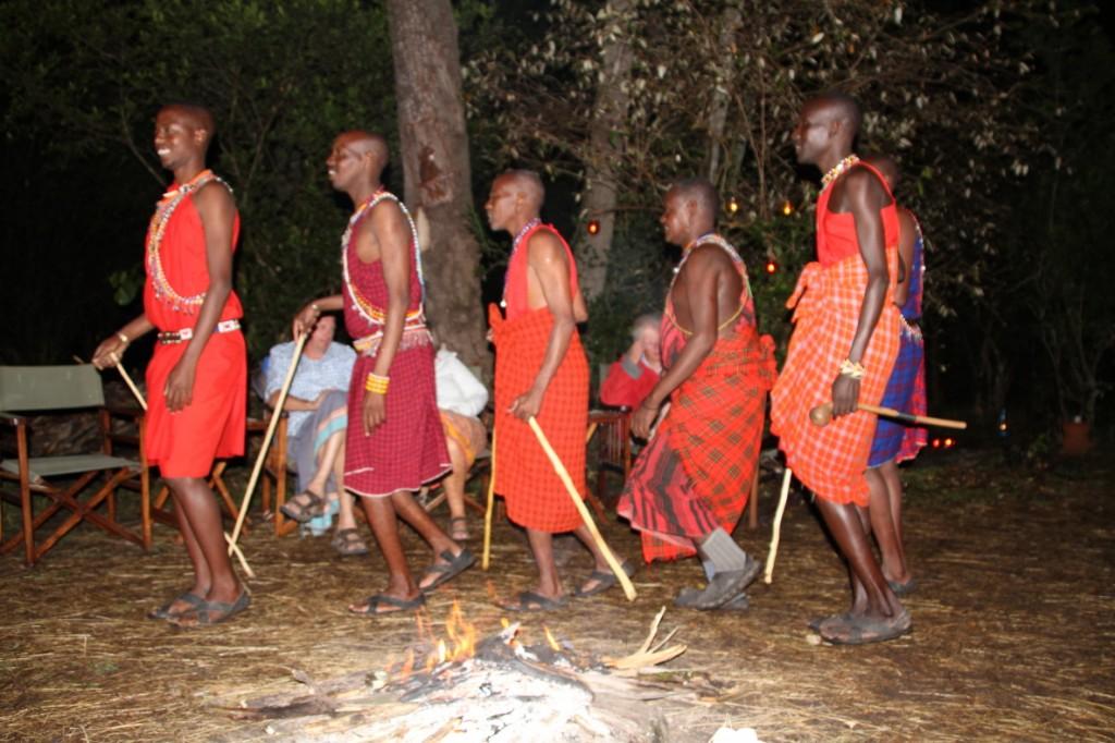 Masai farewell