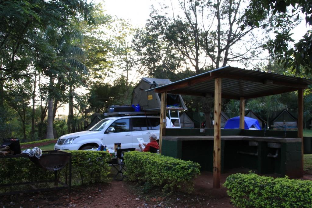 Nile Explorers campsite, Jinja