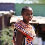 Samburu tribeswoman