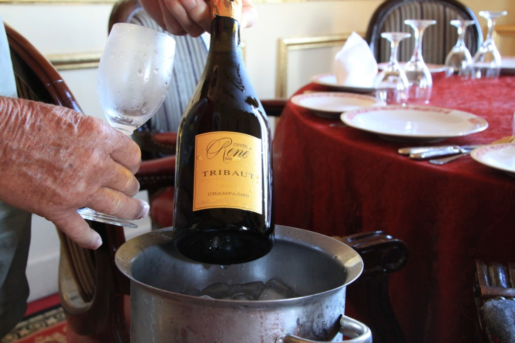 Champagne to celebrate Agulhas to Alexandria