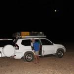 Desert camping, Dongola