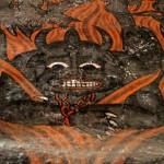 Devil portrait, Debre Birhan Selassie, Gondar