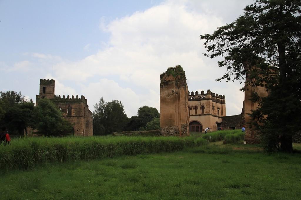 Gondar's medieval castles