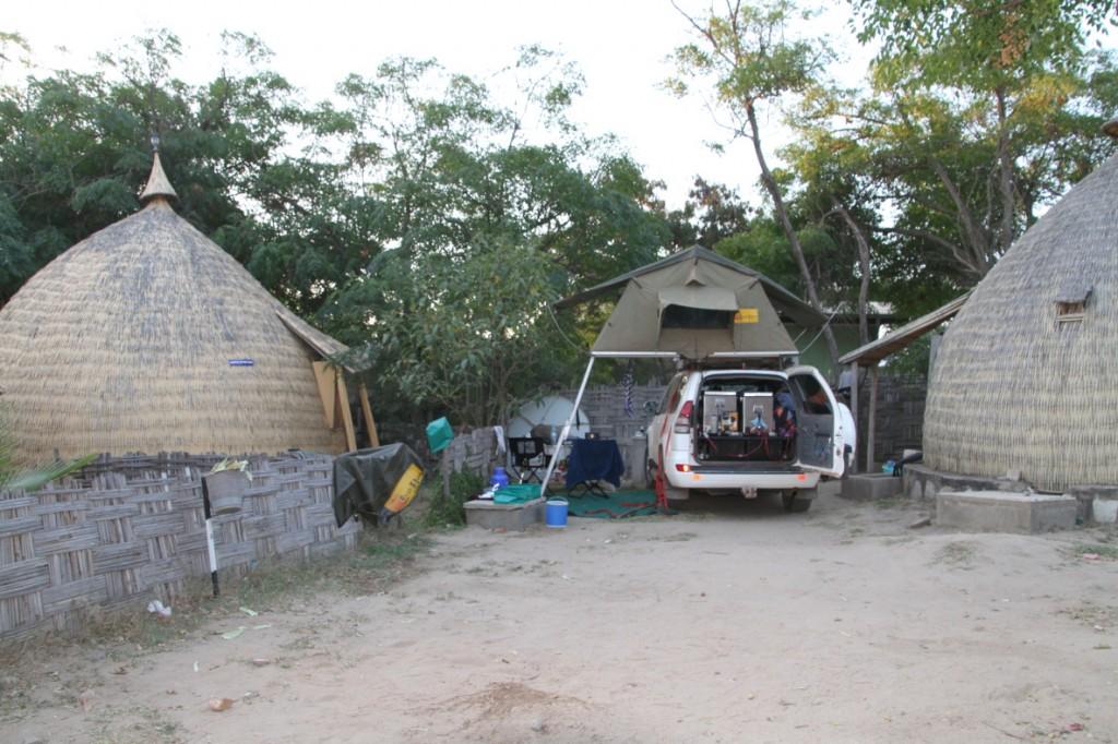 Hotel Koket Borena backyard, Moyale - hellhole