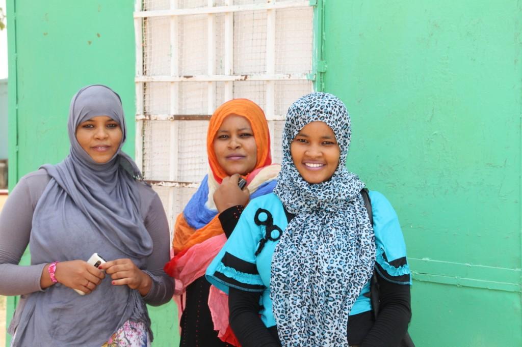 Sudanese ladies