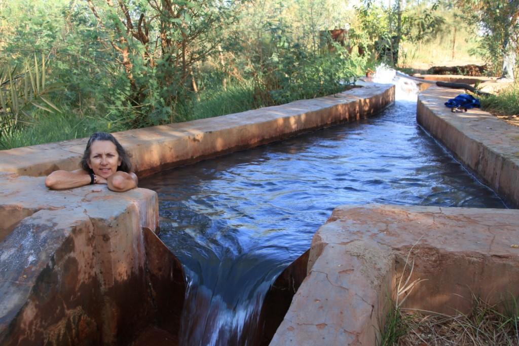 Hot spring, Dakhla Oasis