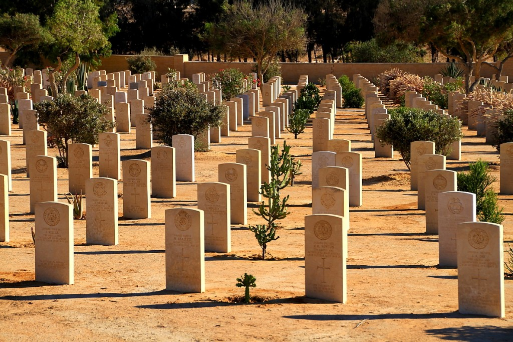 Commonwealth cemetary, El Alamein