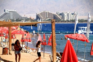 Eilat beachfront